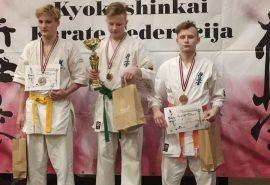 XIV Arņa Kraukļa piemiņas turnīrs karate